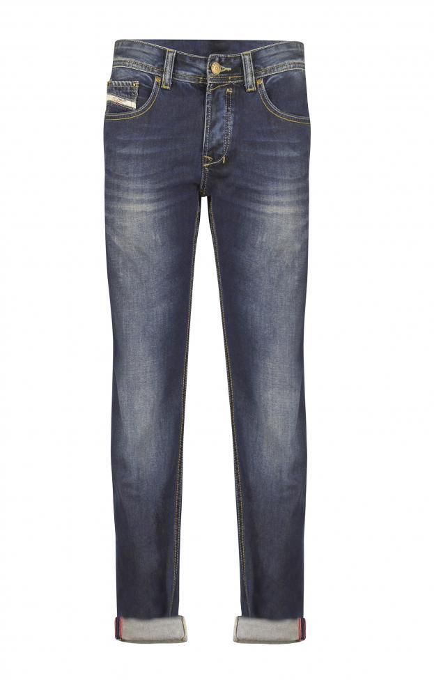 Ανδρικό παντελόνι τζιν με εξώραφα  PANT-4983 Παντελόνια τζίν - Jeans & denim