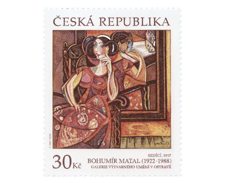COLLECTORZPEDIA Works of Art on Postage Stamps: Bohumir Matal
