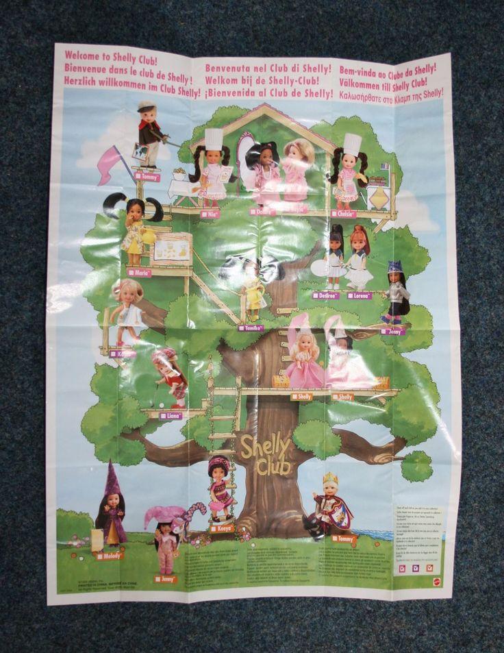 Barbie Shelly Club Poster  ©1999 Mattel, Inc. Art.-Nr. 0007-1543 Rarität - NEU in Spielzeug, Puppen & Zubehör, Mode-, Spielpuppen & Zubehör | eBay!