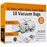 #USAshopping #9: 10 Space Saver Bags for Reusable Long Term Vacuum Storage