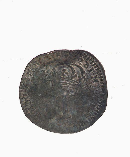 Pièce de monnaie datée de 1692. Pierre Fauteux, © Musée Marguerite-Bourgeoys