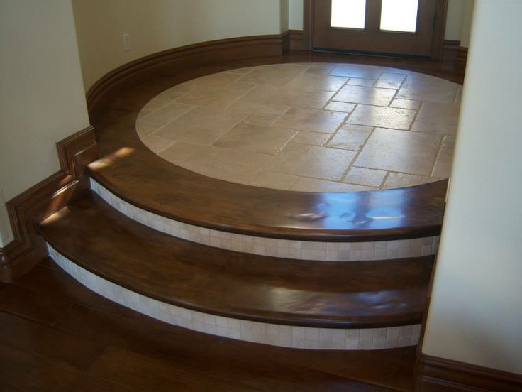 Tile and wood steps by las vegas flooring www for Hardwood floors las vegas