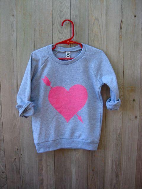 You're My Favorite Heart Kids Sweatshirt www.nanokidsco.com
