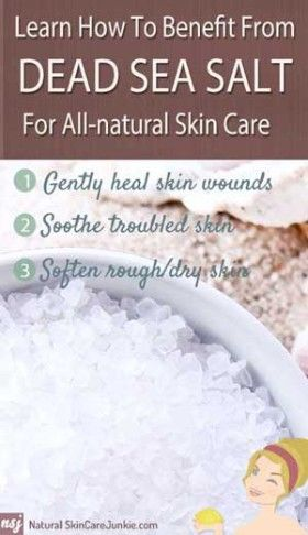 ...silver lining is that it inspired me to learn more about Dead Sea Salt benefits for skin care...I felt like I experienced a miracle...