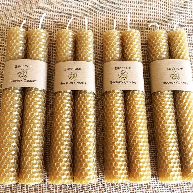 More beautiful beeswax candles ready to go to their new home,  #beeswaxcandles #savethebees #naturalcandles #etsyshop #ElliesFarmShop #instadaily #instagood #photoftheday