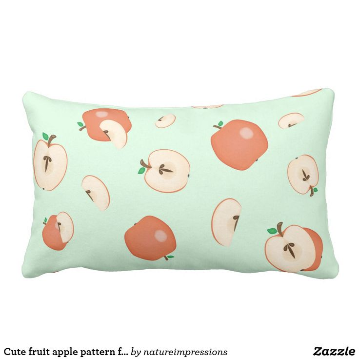Cute fruit apple pattern fresh summer