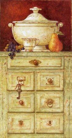 Urn on a Dresser II (Eric Barjot)