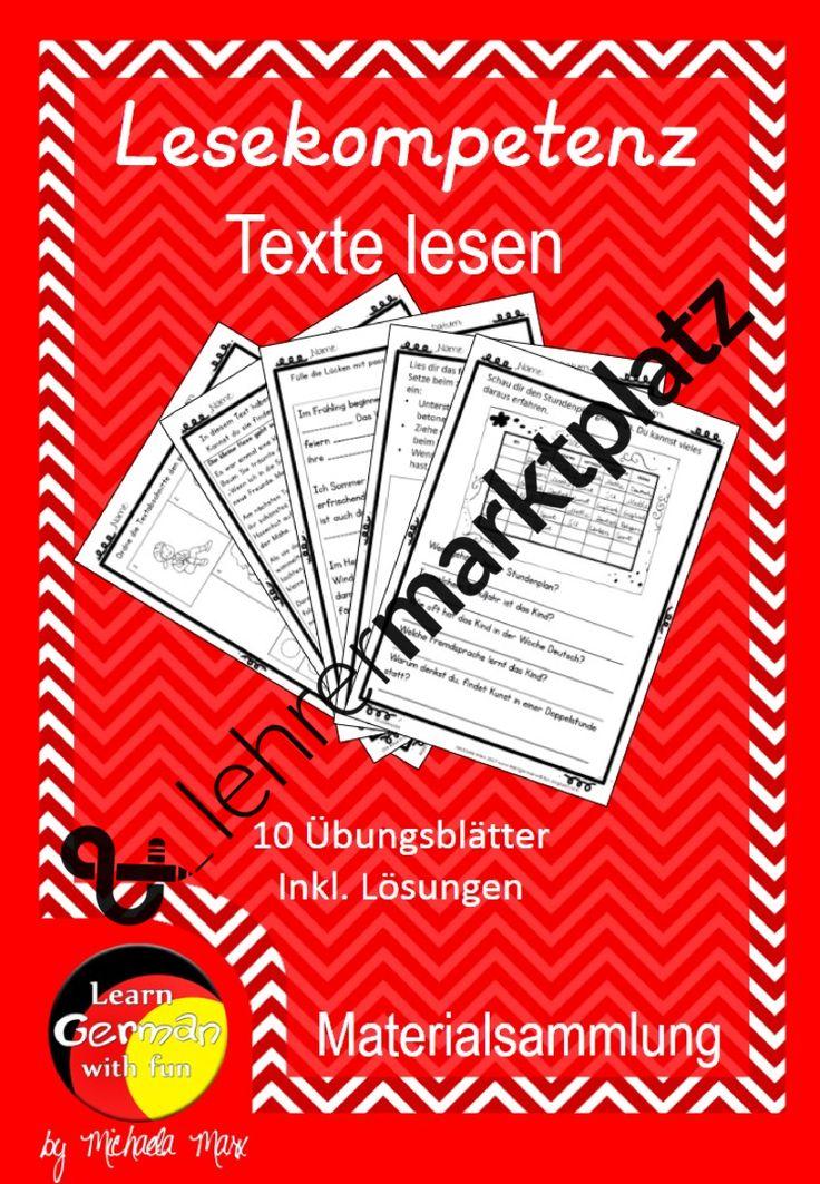 Mejores 132 imágenes de Arbeitsblätter Mathe Deutsch DaF DaZ ...