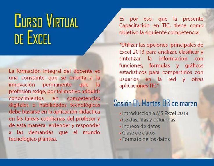 Teresa Clotilde Ojeda Sánchez: Webinar Excel - Editorial Norma - 1ra.sesión 03.mar.15