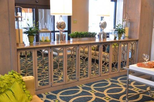 Hilton Garden Inn Texarkana Tx Hotel Lobby Cabinet In