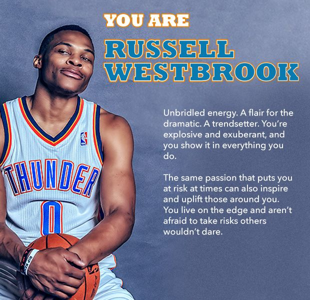 Which Thunder Player Are You