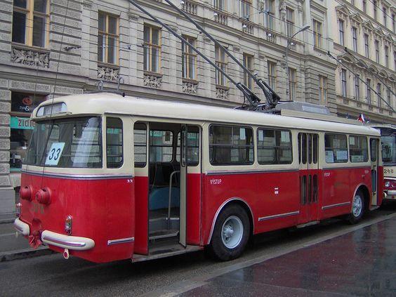 Skoda TR Trolleybüs