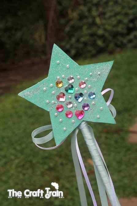 Twinkle Star Fairy Wand <3 #preschool #kidscrafts (repinned by Super Simple Songs)