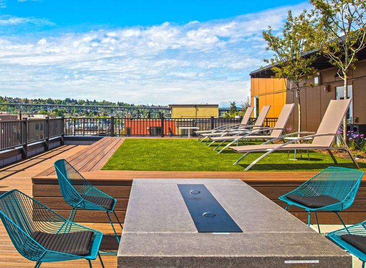 AMLI Wallingford has some stellar views of Seattle and