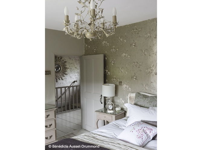 Chambre cottage anglais f pinterest cottages for Deco chambre cottage anglais