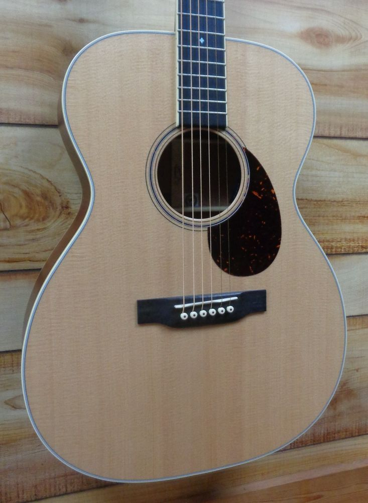 New Martin® OME Cherry FSC Certified Acoustic Electric Guitar Natural w/Case #Martin