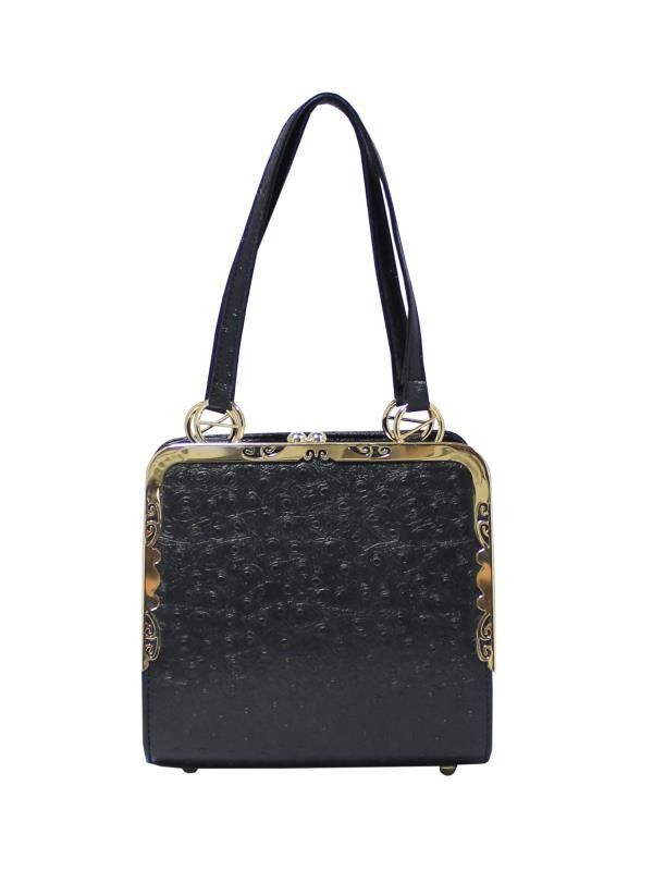 Tara Kiss Lock Bag Black - Accessoires