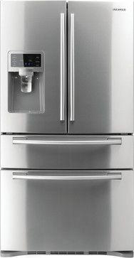 Samsung 28 ct ft 4-Door French Door Refrigerator (ENERGY STAR) - modern