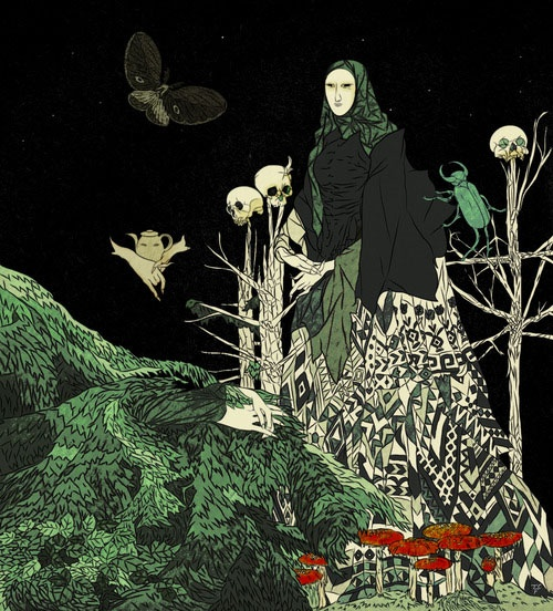 Tin Can Forest (Marek Colek and Pat Shewchuk). Baba Yaga.