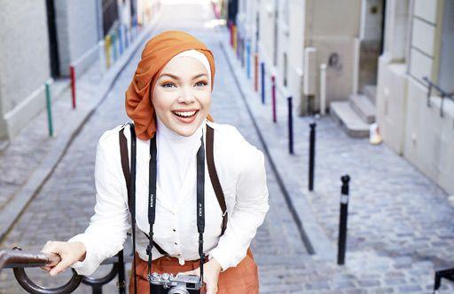 Dewi Sandra #ヒジャーブ #ムスリム