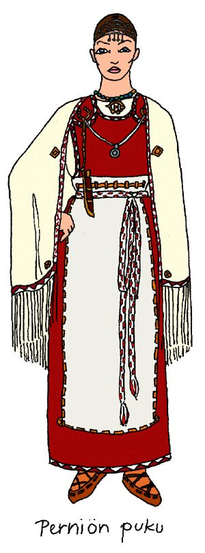 Finnish traditional clothing for Pernio...I have family there! <3  #pintofinn