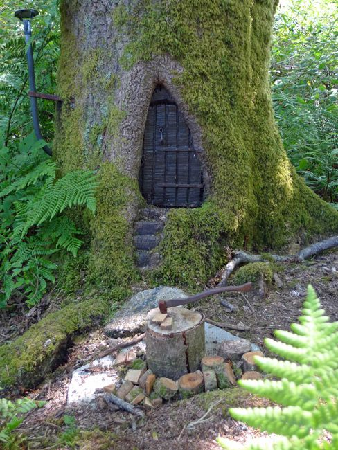Tanglewood Garden, Cornwall- and I need this at my cabin in the woods!