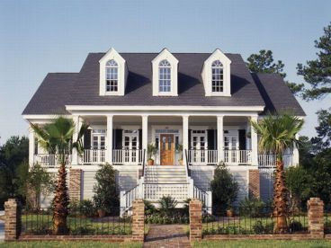 ideas about Charleston House Plans on Pinterest   House    Southern house plans are designed to capture the spirit of the South  particularly the stately Greek Revival Plantation homes from the Antebellum era