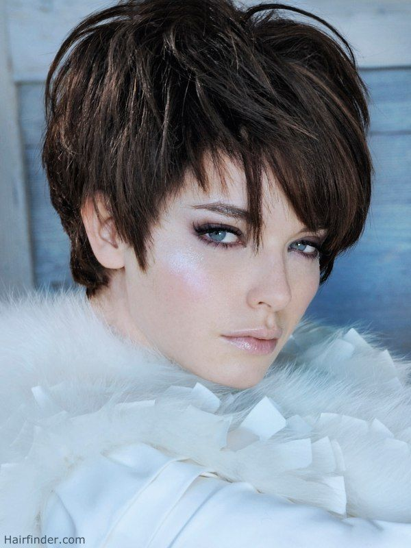 Las Haircuts Womens Short Hairstyles With Sideburns
