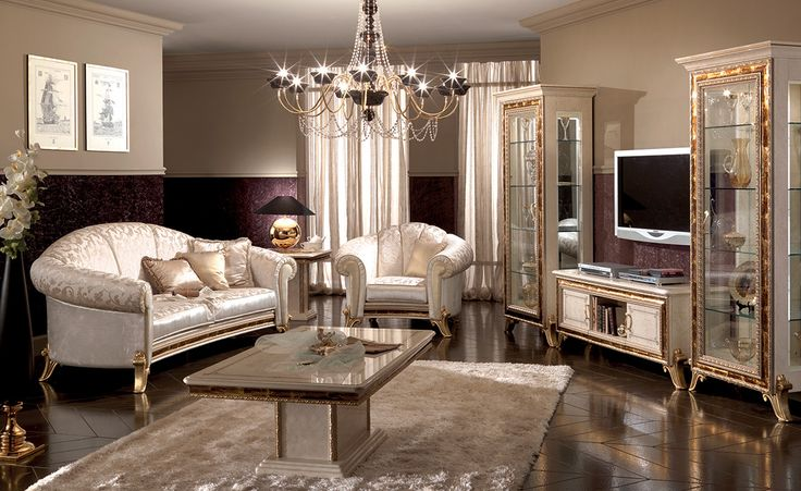 Raffaello Rollection Living Room www.arredoclassic.com/living-room/raffaello