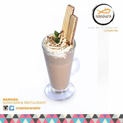 #CoffeeOreo rasa mix kopi  oreonya ajib bgt kak,yuk order Naniura Sushibar Restaurant Jakarta Timur 021-86611789    Tag ur reviews #NaniuraSushi #Sushi #NaniuraMenu #FreshDrink #DeliveryOrder #SushiBar #SushiPorn