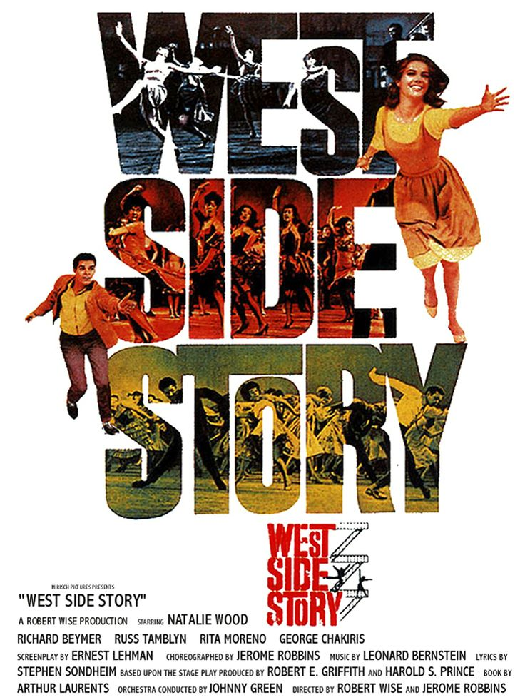 West Side Story (dir. Robert Wise and Jerome Robbins)