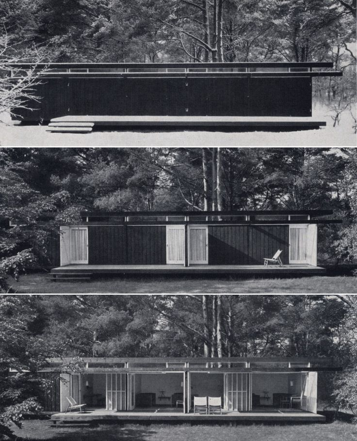 Summer house for physicist Niels Bohr, Tisvilde Denmark (1957) | Vilhelm Wohlert : Wohlert Arkitekter