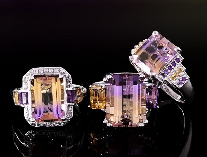 Ametrine jewelry at liquidation channel ring bling for Liquidation tv