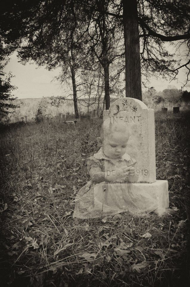 Breaks my heart to even think of a baby being a ghost.