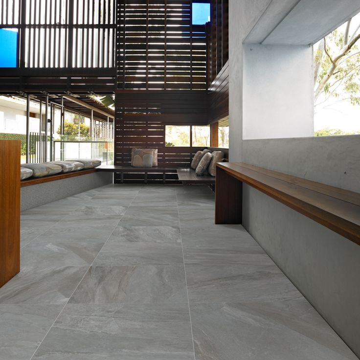 Brand New Greystone - Stone look tile from Vives in Spain