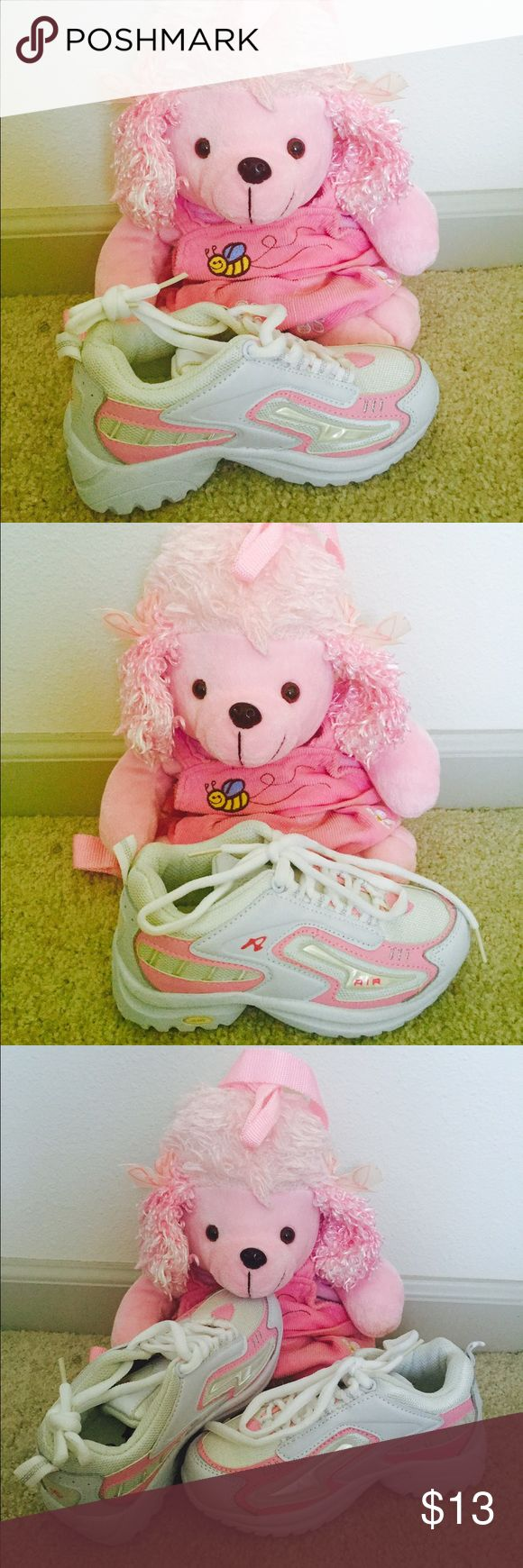 BRAND NEW white and pink little girls tennis shoes BRAND NEW White and pink tennis shoes Shoes