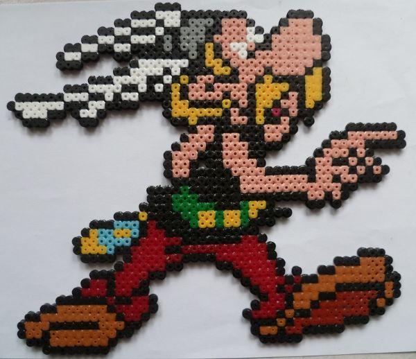 sandylandya@outlook.es Asterix hama beads by creationperles