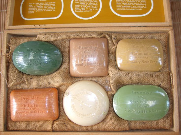 Vintage Soap set by Bronnley