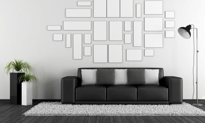 Cómo combinar un sofá negro