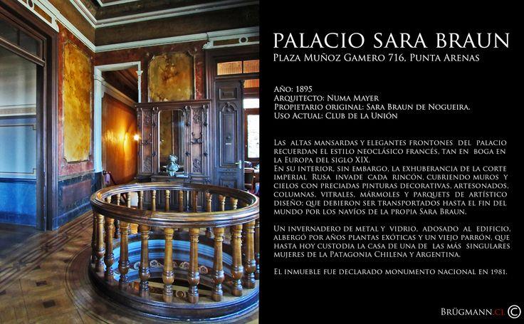 Palacio Sara Braun Plaza Muñoz Gamero 716, Punta Arenas, Chile.