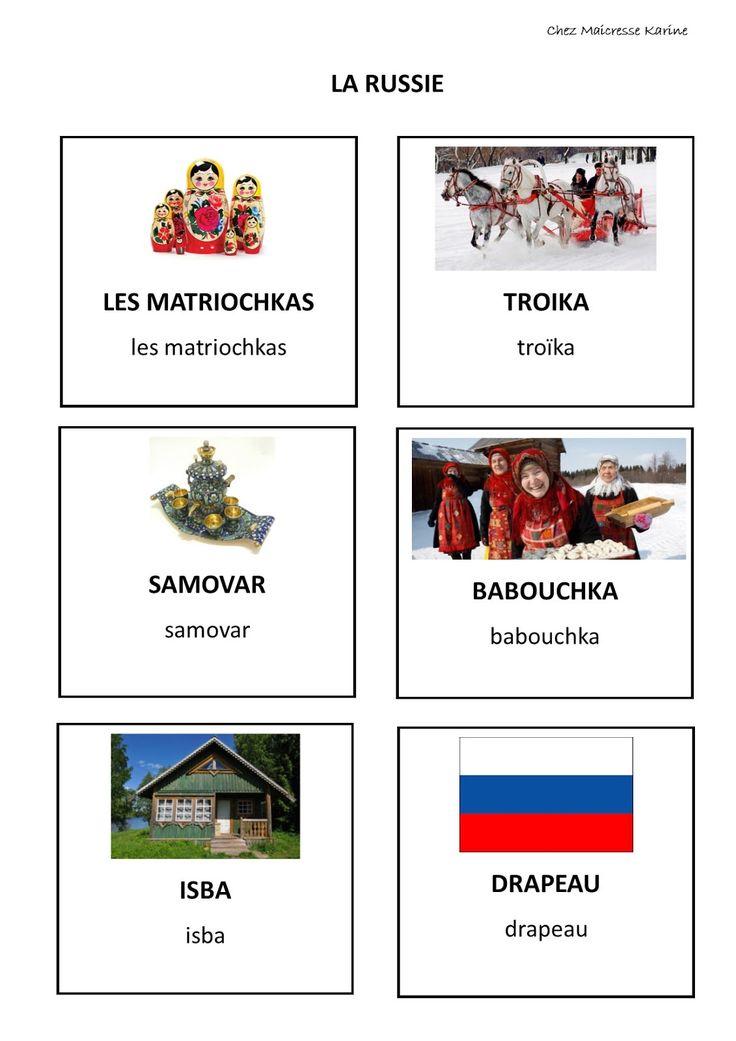 Et voilà, les cartes de nomenclature en lien avec le thème de la période.   Carte de nomenclature la Russie