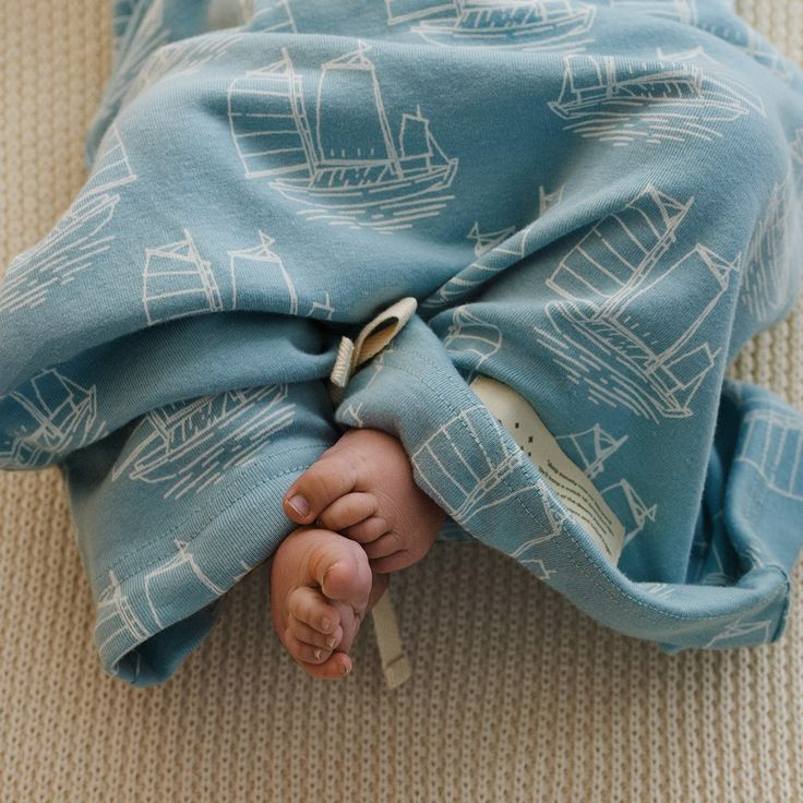 Organic Cotton Sleeping Gown | Nature Baby