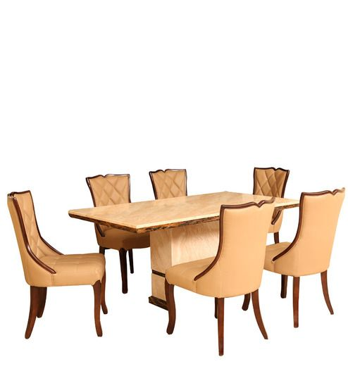The Furniture That Goes Along With Dining Hall Should Be Comfortable And Eye Catching Pepperfry Offers Stylishly Crafted Table Sets