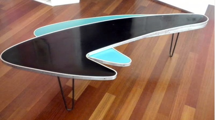 1950s Boomerang Table Retro Atomic Pinterest