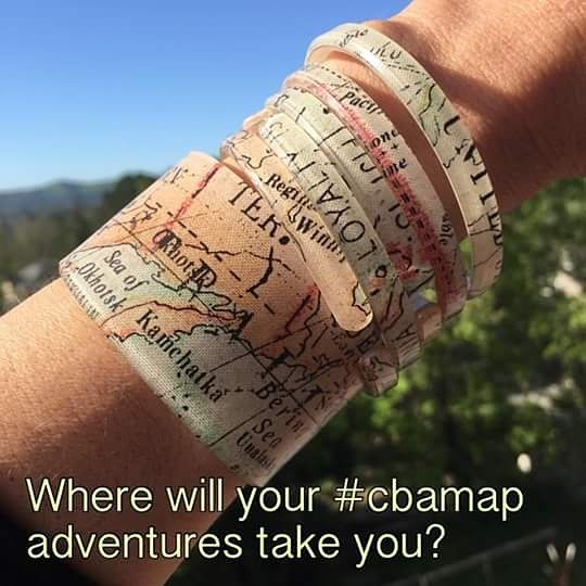 "Love CBA's ""Map"" interlayer! Each one is different. Available in a skinny, cuff & Explore necklace. Want to learn more about Color by Amber? Please contact me! Look, Feel & Do Good! http://heatheryoung.mycolorbyamber.com"