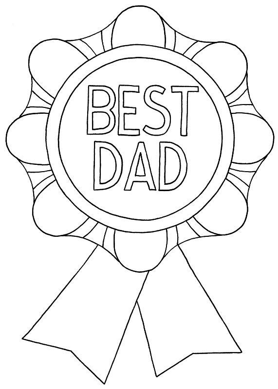 father's day coloring pages   Father's Day Coloring Pages (1 of 3)