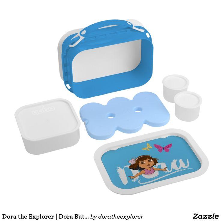 Dora the Explorer   Dora Butterfly Logo. Producto disponible en tienda Zazzle. Product available in Zazzle store. Regalos, Gifts. #lonchera #LunchBox