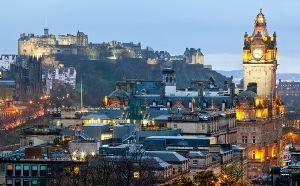 Edinburgh University Skyline