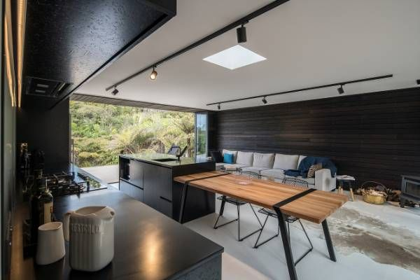 This all-black kitchen designed by owner-architect Evelyn McNamara has won the TIDA Best Architect-Designed Kitchen ...