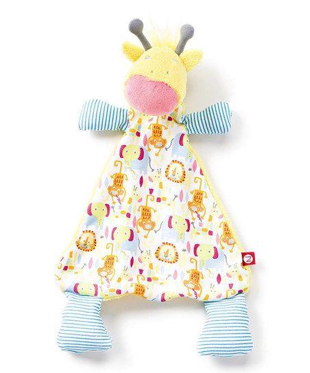 Zutano Jungle Boogie Giraffe Blanket   zulily
